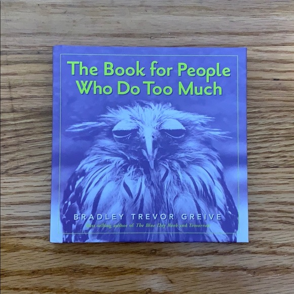 Hardcover book Other - The Book for People Who Do Too Much